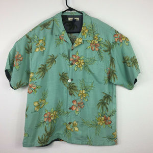 Tommy Bahama Hawaiian Short Sleeve Casual Shirt XL